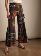Pull-on Palazzo Pants, Blue