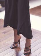 Tulip Hem Pull-On Pants, Black