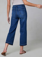 Wide Leg Sculpting Jeans, Blue, hi-res