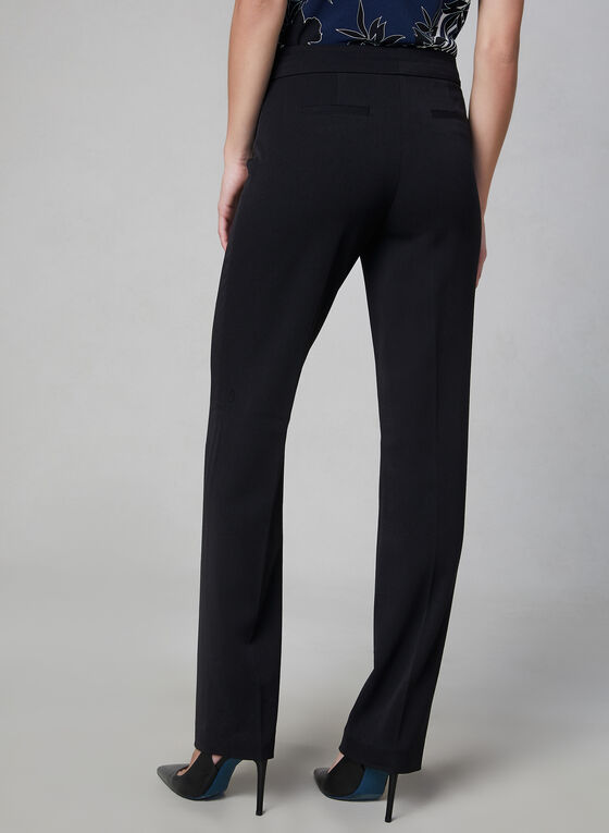 Pantalon Lauren en bi-stretch, Noir, hi-res