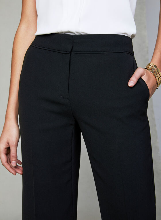 Soho Fit Wide Leg Pants, Black, hi-res