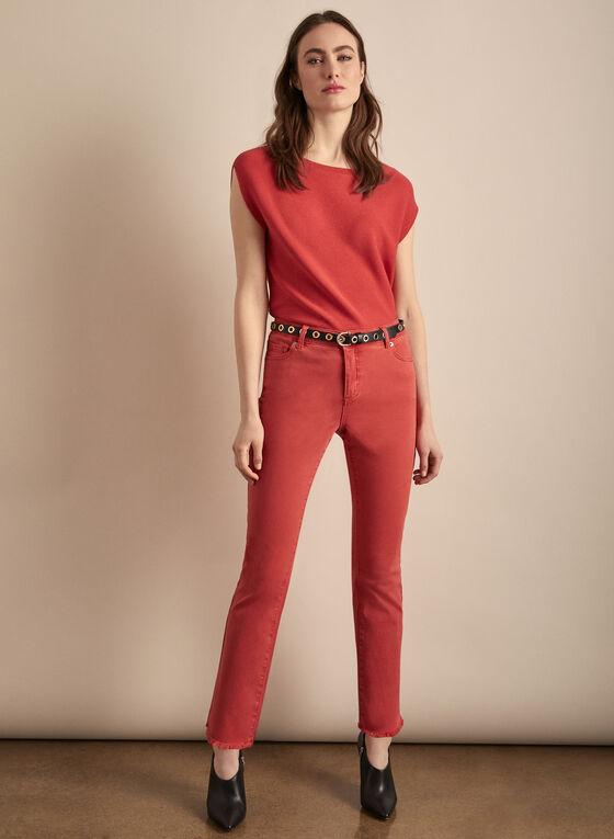 Slim Leg Coloured Jeans, Orange
