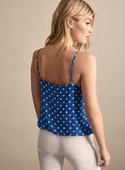 Dot Print Camisole, Blue