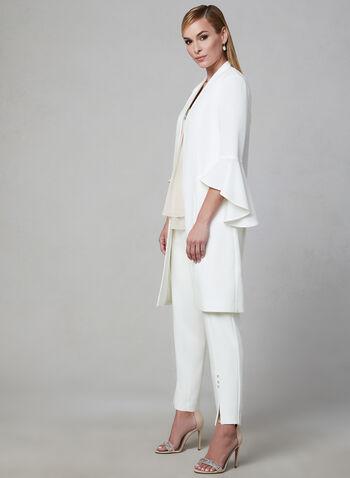Frank Lyman - Bell Sleeve Jacket, Off White, hi-res