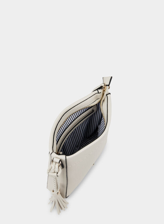 Square Crossbody Bag, Off White, hi-res