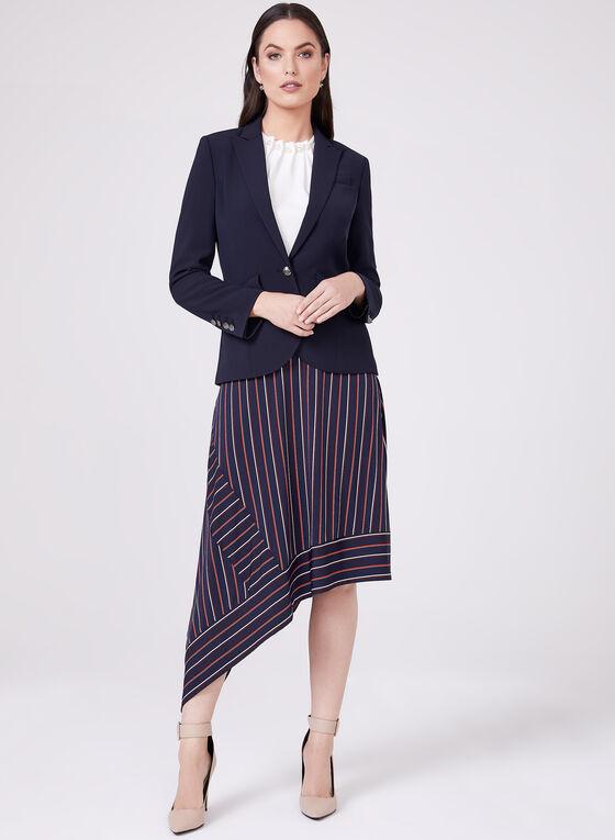 Conrad C - Asymmetric Pull-On Midi Skirt, Blue, hi-res