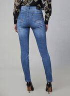 Joseph Ribkoff - Leopard Patch Jeans, Blue