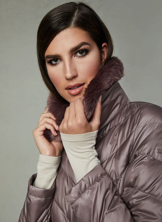 Kenneth Cole - Down Coat, Pink, hi-res