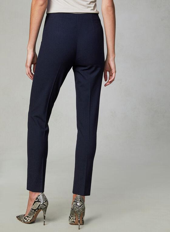 Amber Fit Slim Leg Pants, Blue, hi-res