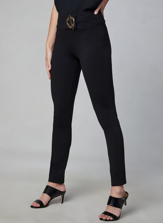 Frank Lyman - Slim Leg Pants, Black