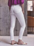 Joseph Ribkoff - Sequin & Rhinestone Detail Jeans, White