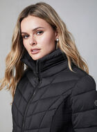 Bernardo - Quilted Packable Coat, Black