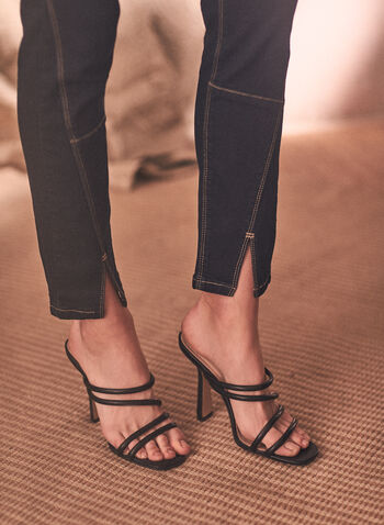 Joseph Ribkoff - Multi-Cut Jeans, Blue,  spring summer 2021, Frank Lyman, Joseph Ribkoff, denim, mid rise, slim fit, zipper,