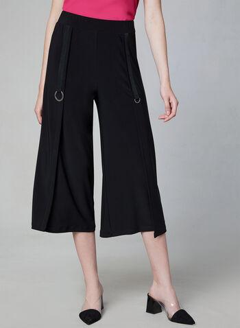 Compli K - Jersey Culottes, Black, hi-res