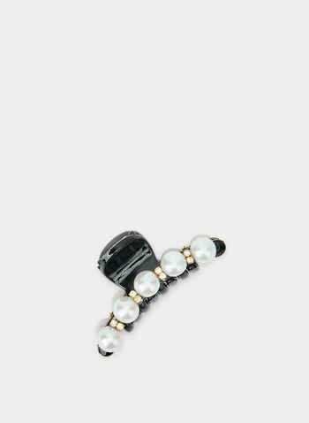 Pince à perles et cristaux, Noir, hi-res,  pince, perles, cristaux, automne hiver 2019