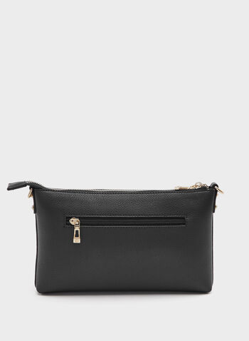Céline Dion - Faux-Leather Clutch, Black, hi-res