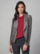 Vex - Faux Suede Jacket, Grey, hi-res