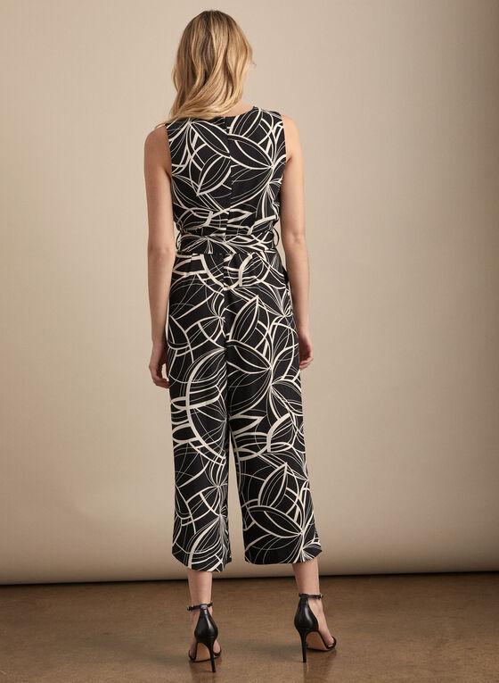 Linea Domani - Combinaison motif abstrait, Noir