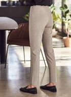 Amber High Rise Pants, Grey