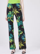 Conrad C – Palm Leaf Print Pants, Blue, hi-res