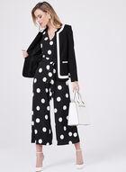 Karl Lagerfeld Paris - Polka Dot Print Jumpsuit, Black, hi-res