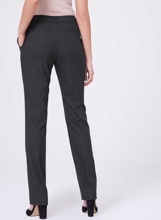 Louben - Straight Leg Pants, Grey, hi-res
