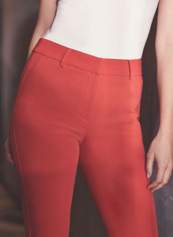 Pantalon Giselle à jambe étroite, Orange
