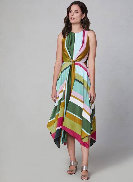 Maggy London - Sleeveless Midi Dress, Multi, hi-res
