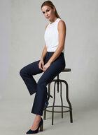 Pantalon Lauren Petites à jambe droite, Bleu, hi-res