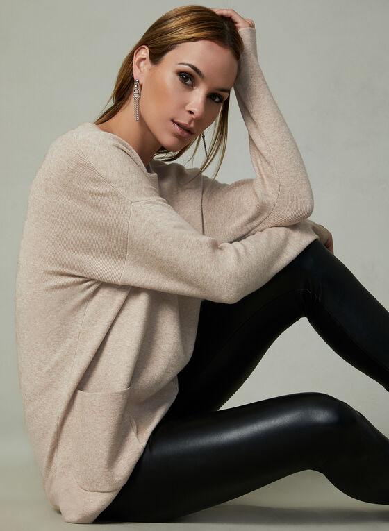 Conrad C - Knit Tunic, Off White, hi-res