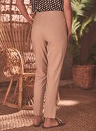 Pantalon Amber coupe tailleur, Brun