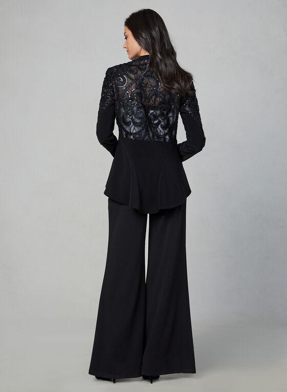 Joseph Ribkoff - Embroidered Jacket, Black