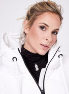 Novelti - Manteau matelassé en duvet contrasté, Blanc, hi-res