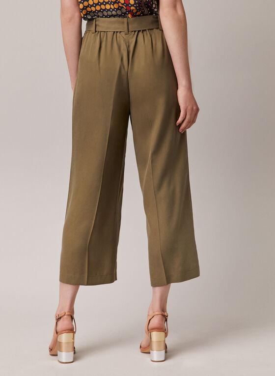Tencel Gaucho Pants, Green