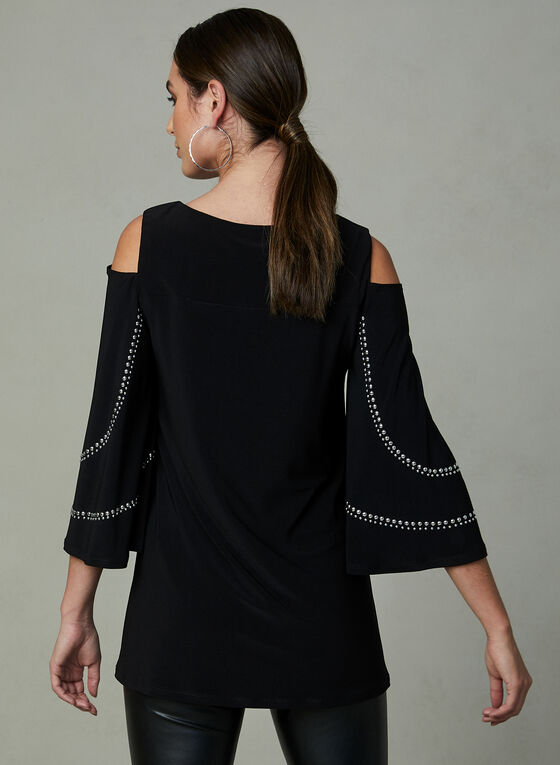 Frank Lyman - Cold Shoulder Top, Black, hi-res