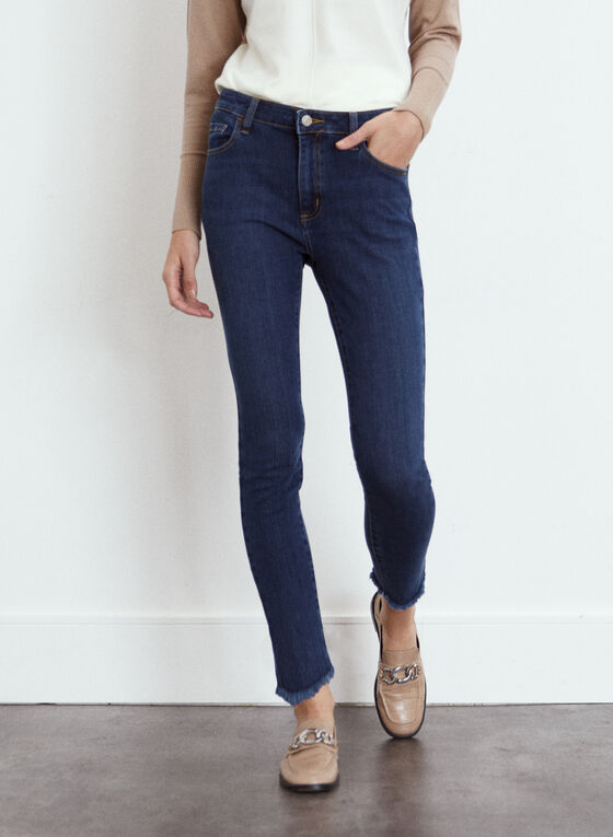 Yoga Jeans - Stretch Slim Leg Denim, Blue
