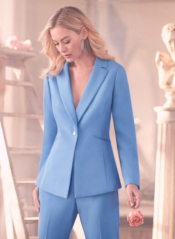 Sky-Blue Suiting,