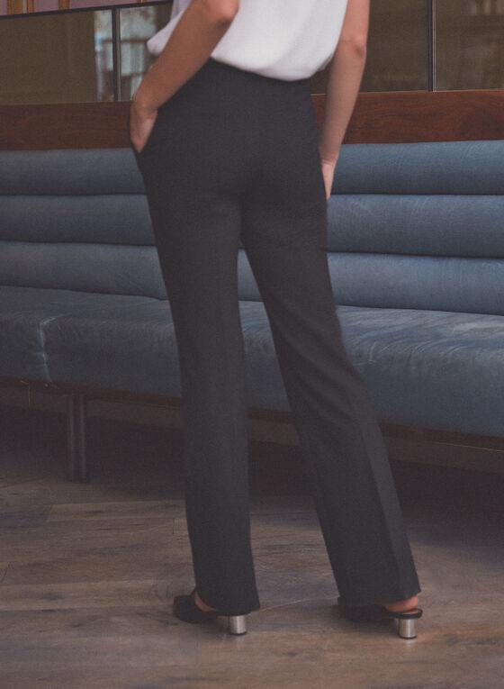 Pantalon à jambe évasée, Noir