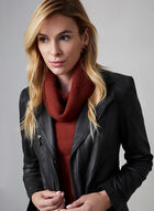 Cowl Neck Sweater, Red, hi-res