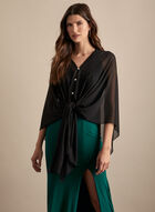 Frank Lyman - Adaptable Poncho, Black