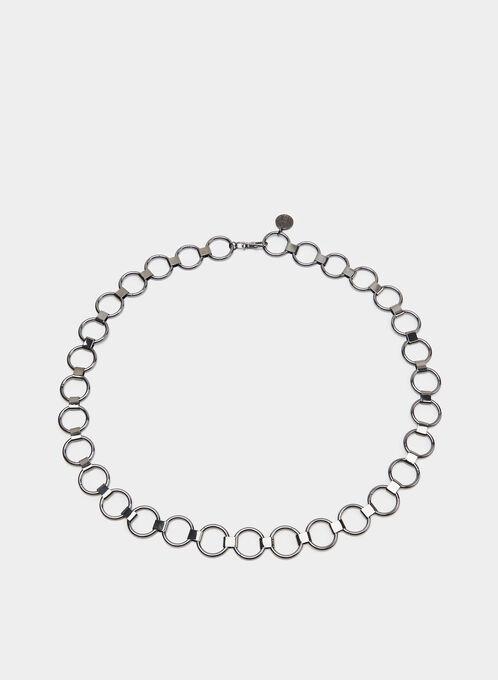 Ring Chain Belt, Grey, hi-res