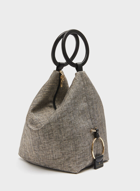 Céline Dion - Canvas Bucket Bag, Black, hi-res