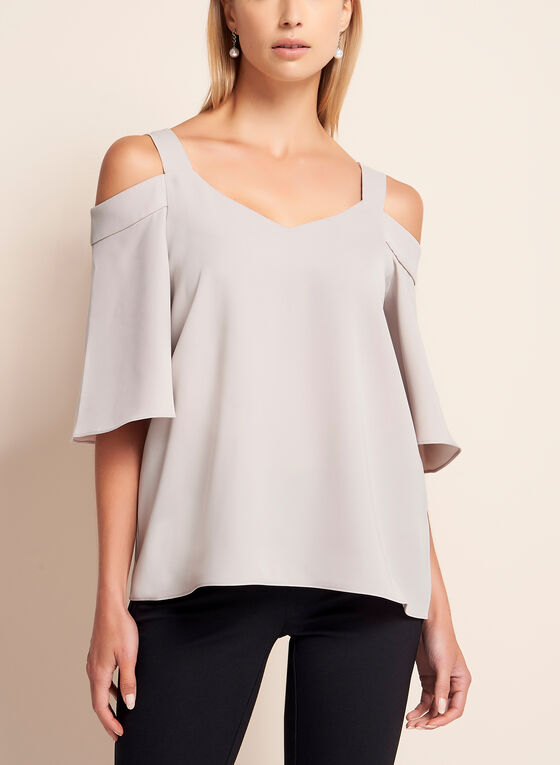 Off The Shoulder Top, Off White, hi-res