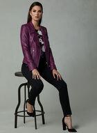 Vex - Faux Leather Jacket, Pink, hi-res