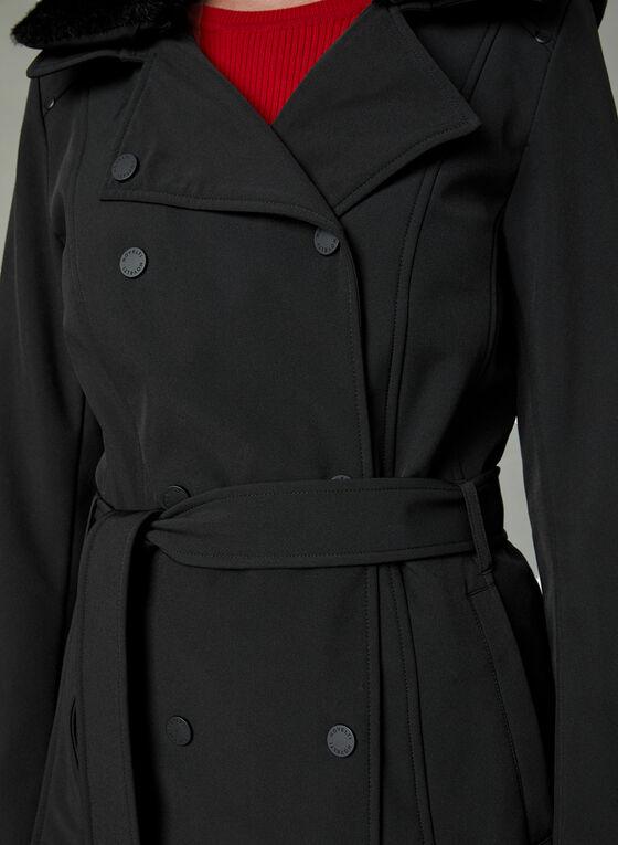 Novelti - Manteau trench avec ceinture , Noir