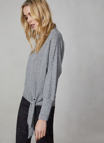 Rib Knit Dolman Sleeve Top, Grey,  canada, top, rib knit, dolman sleeves, long sleeves, fall 2019, winter 2019