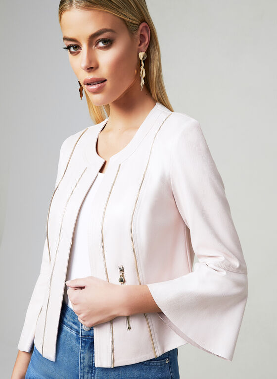 Vex - Bell Sleeve Jacket, Off White, hi-res