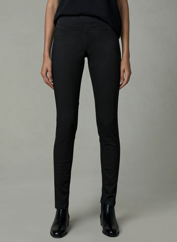 Carreli Jeans - Jean pull-on à jambe étroite, Noir, hi-res