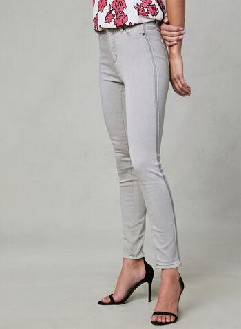 Super Soft Slim Leg Jeans, Grey, hi-res