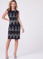 Vince Camuto - Sequin Sheath Dress, Blue, hi-res